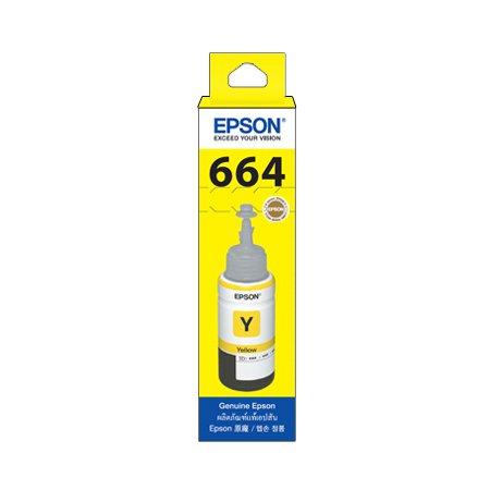 [정품]엡손 컬러무한잉크[T6644][노랑][6,500매/호환기종:L200, L350, L555]