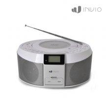 카세트 PD-7600 [ 실버 / DVD 플레이어 / 음성출력 6W / 학습 기능 (무한반복 발음 녹음 및 듣기 발음 비교) ]