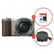 미러리스 A5100L (16GB메모리+가방 증정) [16-50mm] 티탄