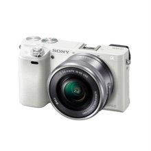 [정품등록이벤트]알파 A6000L 미러리스 카메라 렌즈KIT[화이트][본체+16-50mm]