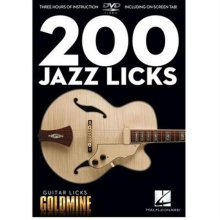 DVD 도서 200 Jazz Licks DVD (00320931)