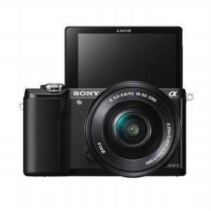 [상품권 2만원 증정] 미러리스 카메라 알파 A5000 [ 블랙 / 본체 + 16-50mm / 16GB메모리+가방 증정 ]