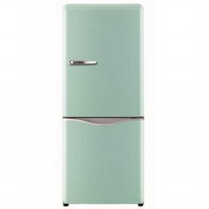 일반냉장고 FR-C15NFM [프레쉬 민트 / 띠에르 핸들 / 전자직온도조절 / 서랍식냉동실 / 경사포켓 / 냉동 냉장 독립 제어]
