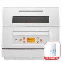 6인용 식기세척기 DWA-1675P [기본 세척 코스 / 식기 건조 기능 / 자동 문열림 기능]