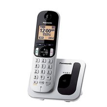 무선전화기 KX-TGC210 [1.7GHz 디지털/ CID기능(수신50개/발신5개)/ 1.6인치 백라이트 한글메뉴 LCD/ 야간모드기능]