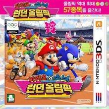3DS 마리오와소닉 런던올림픽 CTR-P-ACMK-KOR [스포츠/ 전체이용가]