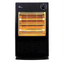 온풍기 겸용 전기스토브 EHF-3100BL [강약조절 / 전도안전장치 / 석영관히터]