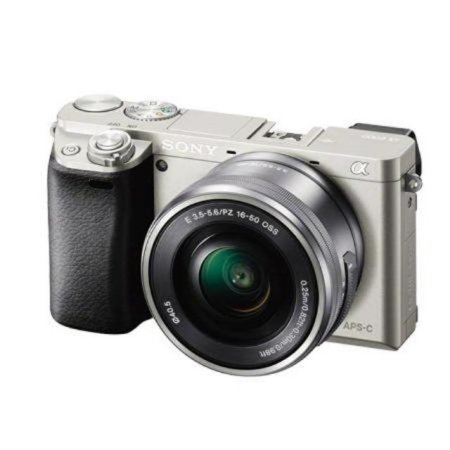 알파 A6000L 미러리스 카메라 렌즈KIT[실버][본체+16-50mm]
