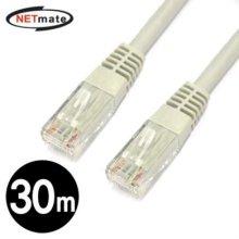 NETmate CAT.6 UTP다이렉트 케이블 30m