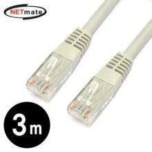 NETmate CAT.6 UTP다이렉트 케이블 3m