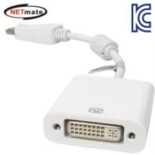 NETmate DisplayPort to DVI 젠더(White)