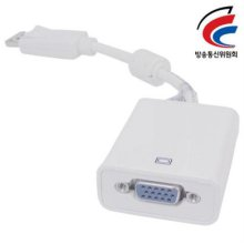 NETmate DisplayPort to VGA 젠더(White)