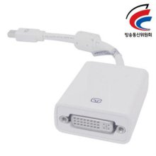 NETmate Mini DisplayPort to DVI 젠더(White)