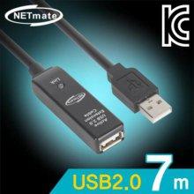 NETmate USB2.0 무전원 리피터 7m