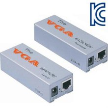 NETmate VGA 1:1 리피터(로컬 + 리모트)(180m)