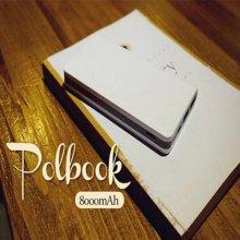 컴티브 보조배터리 POLBOOK 리튬폴리머 8,000mAh (화이트) [2포트 USB출력 / 잔량표시LED]
