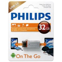 OTG USB 메모리 Philips USB OTG MONO3.0 32G [메모리 32GB / USB3.0]
