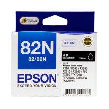 ◆정품◆ EPSON 정품 잉크(82N) T0821N (검정)