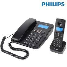 필립스 1.7GHz 유무선전화기 X200 [CID(수신20개/발신10개)/ 발신자정보표시/ 스피커폰/ 내선통화기능]