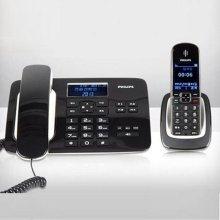 (스마트픽전용) 필립스 유무선전화기 DCTG492 [ CID(수신40개/발신10개) / 광다이얼/액정조명기능 / 휴대장치와 고정장치間 통화기능]