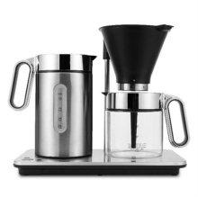 Svart Manuell 윌파 반자동 브로우 커피머신 WSM-1B [실버 / 정밀온열시스템 / 물흐름제어장치]