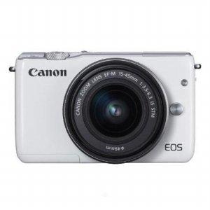 미러리스 카메라 EOS-M10 [화이트 / 본품 + 15-45mm IS / 8GB메모리+파우치 증정 ]