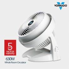 공기순환기 에어서큘레이터 630W 화이트 [30cm / 강력터보직강풍 / 각도조절 가능]