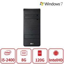 엑스피온 데스크탑 B5시리즈 (I5 2400/8G/SSD120/내장/DVD롬/Win7 64bit/) 리퍼