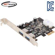 USB3.0 2포트 PCI Express 카드(Renesas/NEC)(슬림PC겸용)