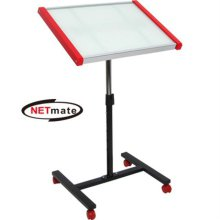 NETmate 화이트보드 겸용 이동식 보조 책상