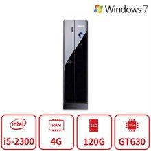 블랙슬림 게이밍 데스크탑 Z40시리즈 [I5 2300/4G/SSD120G/GT630G/DVD롬/Win7 64/복원]  리퍼