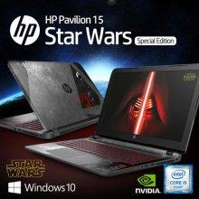 STARWARS 스타워즈 스폐셜 에디션 노트북 15-AN006TX [6th Core i5/8GB/Geforce 940M/1TB/WIN10]