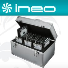 ineo 알루미늄 하드디스크 보관함(2.5 3Bay + 3.5