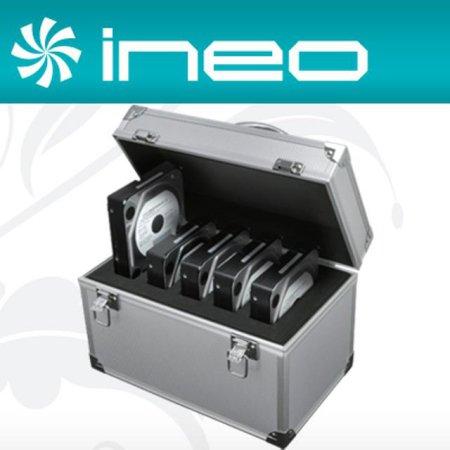 "ineo 알루미늄 하드디스크 보관함(3.5"" 5Bay) (I-NC09)"
