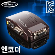 NETmate NM-ECR1 VGA to Video 컨버터[엔코더](NM-ECR1)