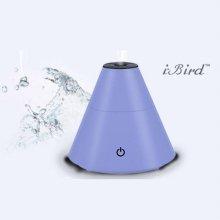 (수량한정 초특가) 휴대용 USB 미니 가습기 I-H015B 블루 [초음파식 / 원뿔디자인 / 차량사용가능]