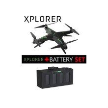 자이로 드론 엑스플로러 S+배터리 SET [XPLORER-S-B-SET / 간편하고 쉬운 비행 / 모듈화된 구조]