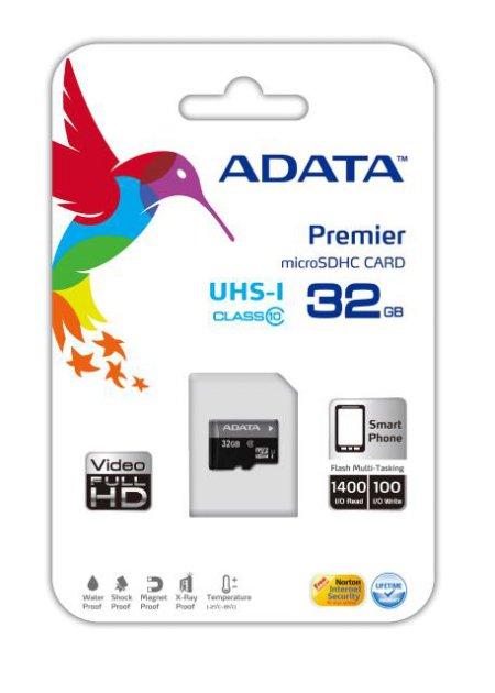 Premie microSDHC (32GB) UHS-1 CLASS10