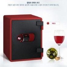 [무료배송] 디지털 내화금고 YES-031D [레드]