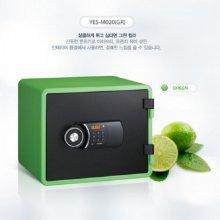 [무료배송]디자인 디지털 내화금고 YES-M020 [그린]