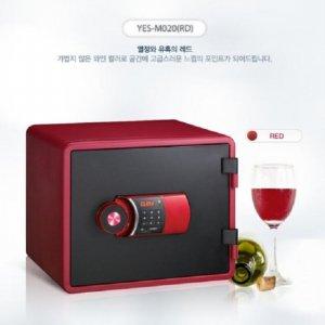 [무료배송]디자인 디지털 내화금고 YES-M020 [화이트/블루/블랙/그린/레드]