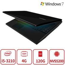 블랙슈트 게이밍 노트북 B5B시리즈 (i5 3210M/4G/SSD120G/NVS5200/15인치/Win7) 리퍼