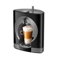 (지점전시상품) 캡슐형 커피머신 OBLO-BLACK 오블로(블랙) [물통 : 0.8L/ 최대 15bar 압력]