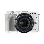 미러리스 카메라 EOS-M3 [ 화이트 / 본품 + 15-45mm / 8GB메모리+가방 증정 ]