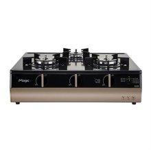 슈퍼쿡 3구 가스레인지 GRA-CM330T [스마트폰 연동 IoT 기능 / 슈퍼쿡기능 (맞춤온도조절) / 티타늄 상판]