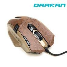 드라칸 유선 게이밍 마우스 GM6