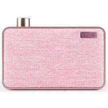 블루투스 스피커 EMIE-CANVAS-PINK [ 핑크 / 강하고 선명한 파워풀 사운드 제공 / 감성적인 디자인과 콤팩트한 사이즈 ]