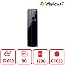 블랙슬림 게이밍 데스크탑 Z2시리즈 [코어i5/8G/128G/GT630/DVD/Win7] 리퍼