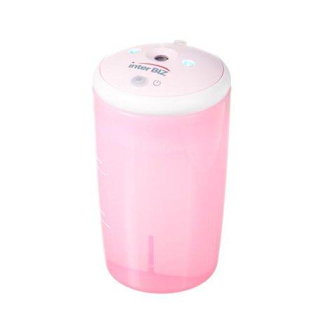 충전식 USB 가습기 (차량겸용/핑크) IB-HU7501P