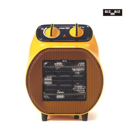 PTC 전기온풍기 + 캠핑겸용/전용가방 (오렌지)